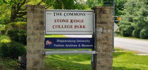 stone ridge commons sign